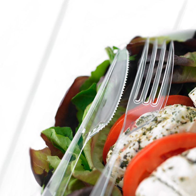 Darnel Clean Touch® Clear Cutlery