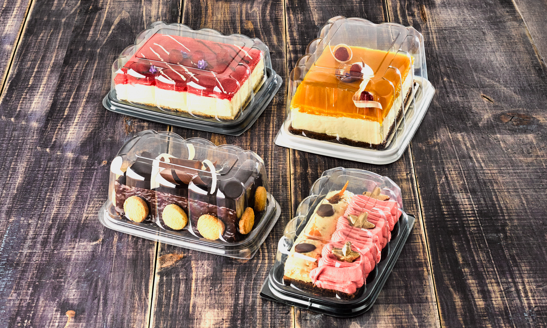 resq® Rectangular Visual Cake Domes