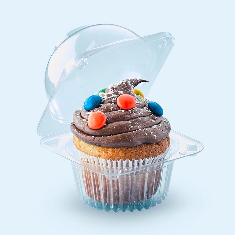 resq® VisualPack Cupcake & Muffin Containers