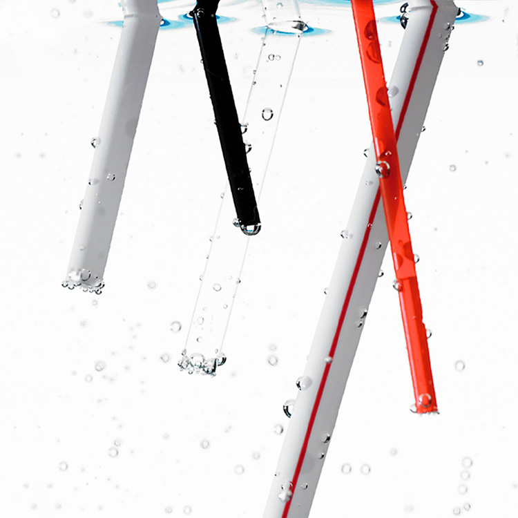 Unwrapped Straws