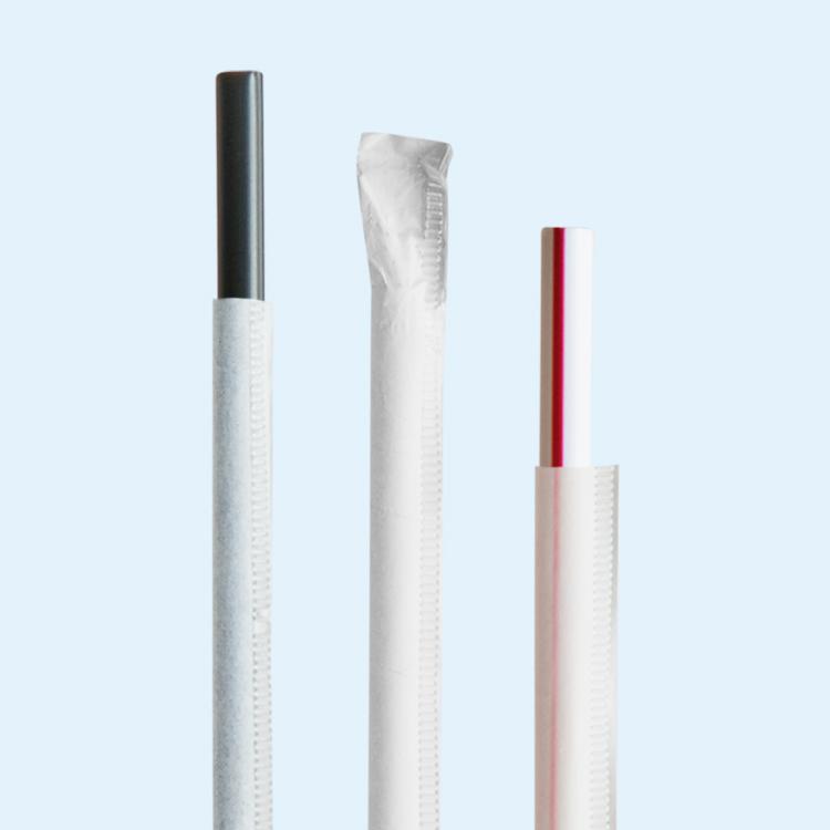 Wrapped Straws
