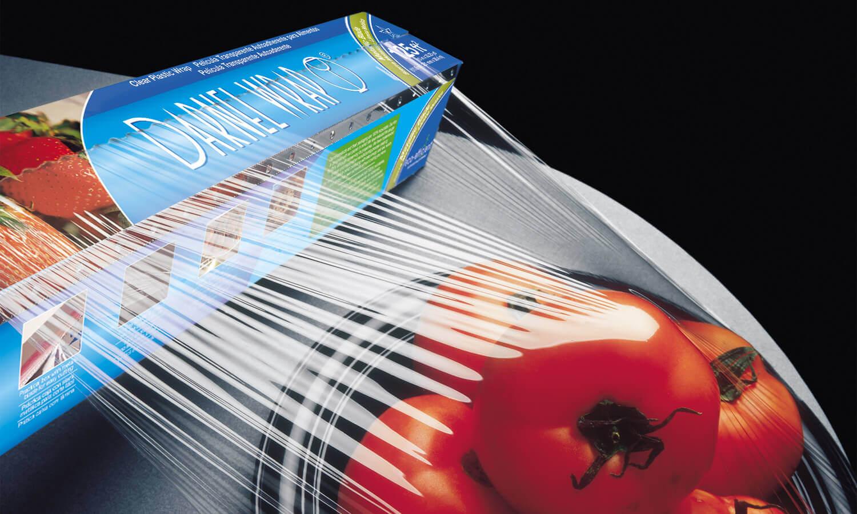 Películas Extensibles para Alimentos PVC Hogar
