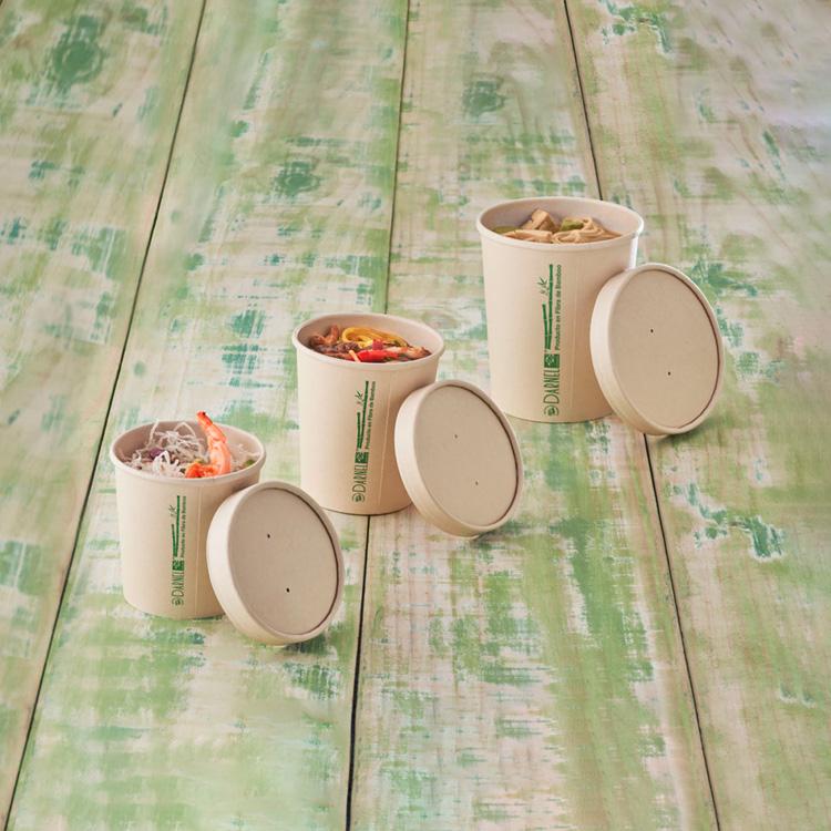 Potes de Fibra de Bamboo Darnel Naturals®