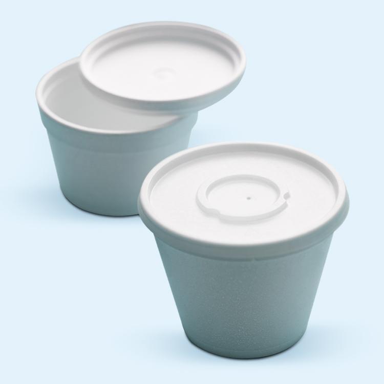 Tapas para Vasos, Bowls y Contenedores Espumados