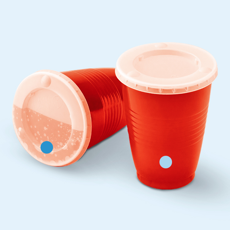 Vasos Plásticos Color